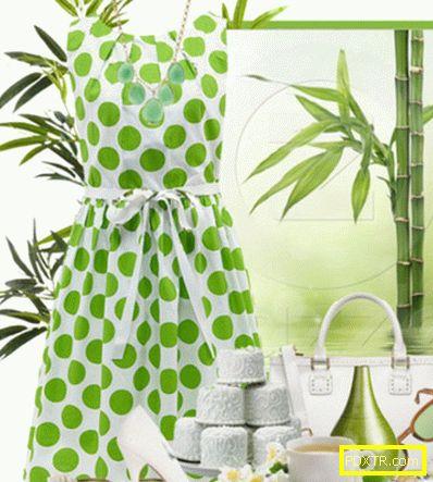 Цветова комбинация: зелена