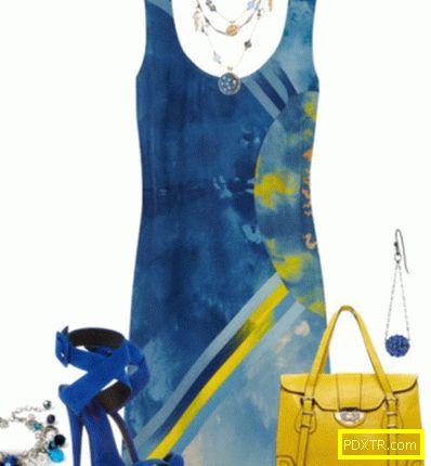 Цветова комбинация: синьо