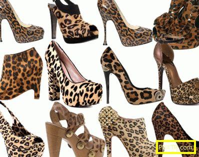 С какво да носите обувки с леопард?