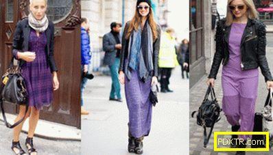 Аксесоари и бижута за лилаво облекло