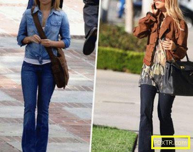 Дънки с тъмни цветове - с какво да носите тъмни джинси?