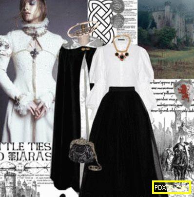 Одежда в стиле рок ( глэм, готика, рок-н-ролл, нео-фолк,
