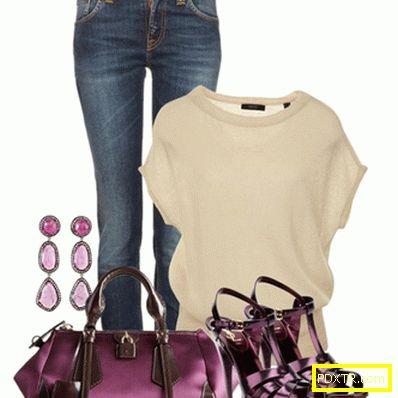 Страст на виолетовете: лилава чанта с какво да носите?