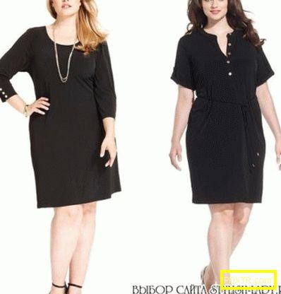 Малка черна рокля - за всички и за всички! модели и стилове