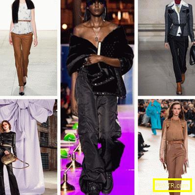 Модни тенденции: поли и панталони 2017-2018 есен - зима
