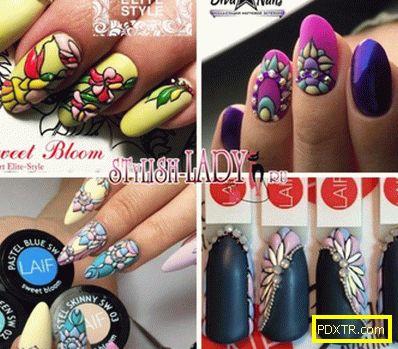 Дизайн на ноктите в стила на sweet bloom - идеи и опции