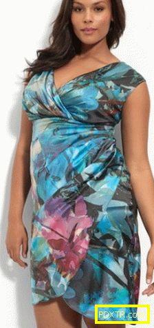 Фантастични рокли за пълен. успешни модели и стилове