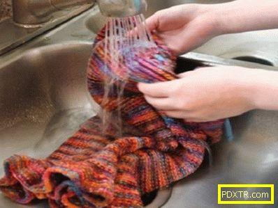 Как да се измие акрилен пуловер правилно?