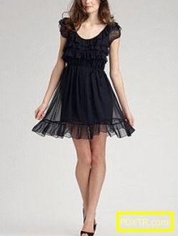 Малка черна рокля: модни модели и стилове