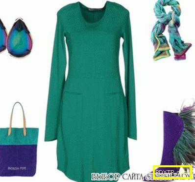 Обувки лилаво - с какво да нося?