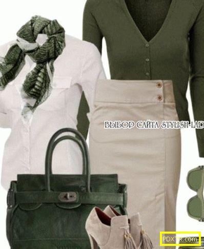 Поставете зелен - да се усмихнете! с какво да носите зелено