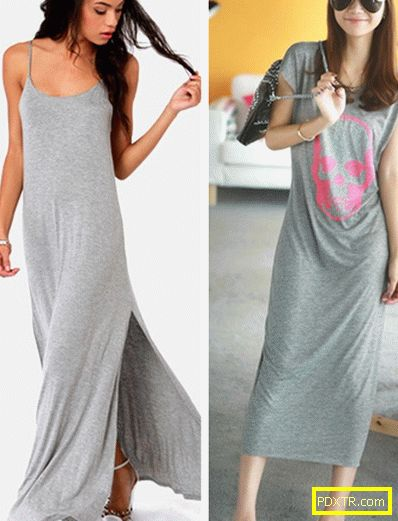 С какво да носиш сива рокля: ние избираме чорапогащи,