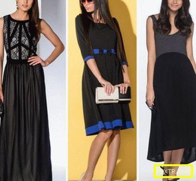 С това, което носят черни рокли: ние избираме чорапогащи и