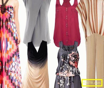 Модата идеи. как да скриете широката талия с дрехи?