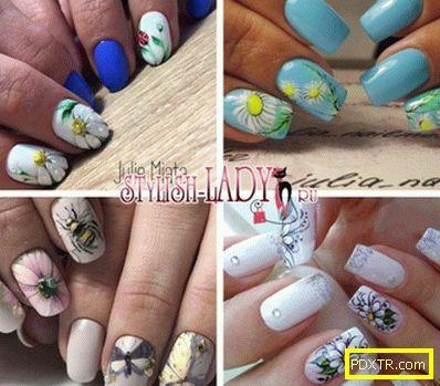 Лайка върху ноктите - идеи за пролет-лято дизайн