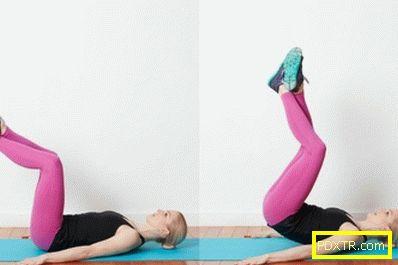 Обратни усуквания - най-добрите упражнения за долната