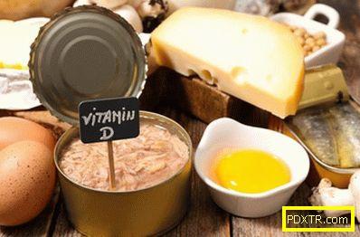 Къде се съдържа витамин d?