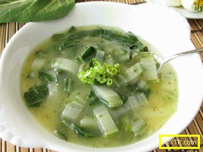 Рецепти за супи за отслабване за целина