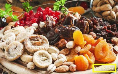 Какво мога да ям сушени плодове при загуба на тегло?
