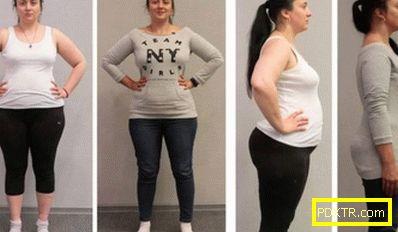 Отделна диета за една седмица за отслабване