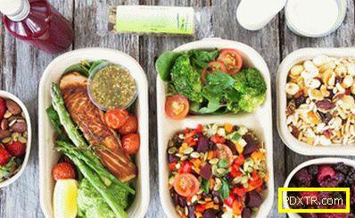 Правилното хранене за отслабване - меню за една седмица