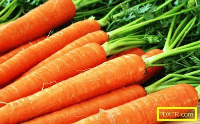 Рецепти с моркови за отслабване