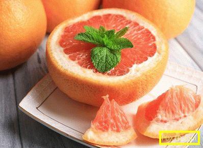 Грейпфрут за отслабване - правилата на диетата с плодове