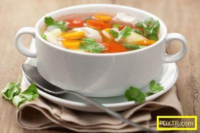 Отслабване със здравословни зеленчукови супи