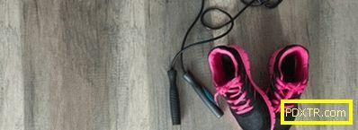 Отслабване с прескачащо въже - упражнения комплекси и