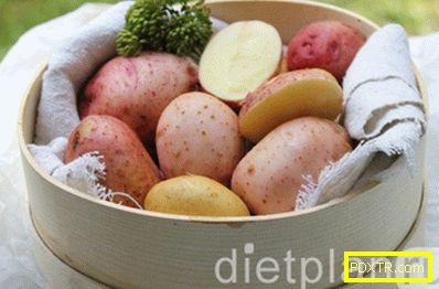 Предимствата на младите картофи