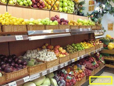 Химия в зеленчуците и плодовете