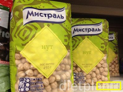 Нахут - отличен източник на растителен протеин