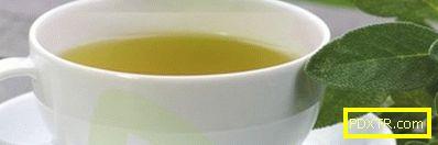 Релаксиращ ден на зелен чай