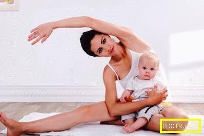 Как да отслабвам след раждането у дома?