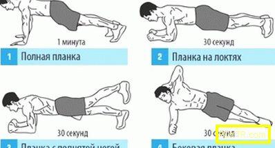 Най-ефективният набор от упражнения за пресата