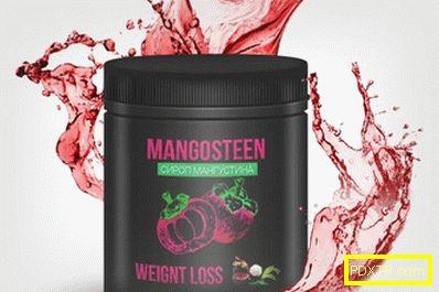 Сироп мангостан в борбата с наднорменото тегло