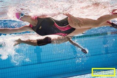 Упражнения в басейна за отслабване