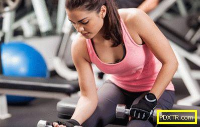 Програма за тренировки за момичета - упражнения за