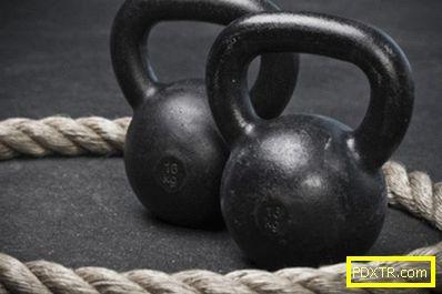 Обучителен комплекс от упражнения с тежести у дома