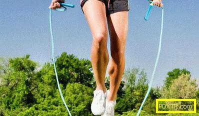 Скокове на въжето или как да отслабнете бързо и лесно