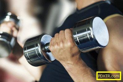 Програма за обучение за отслабване във фитнес за мъже