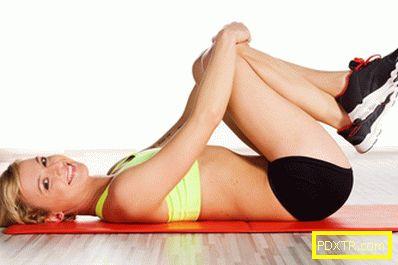 Фитнес упражнения за отслабване у дома - уроци по фото и