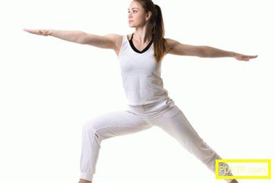 Йога за отслабване у дома
