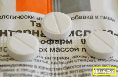 Сукцинова киселина за лицето - добра за кожата, индикации за