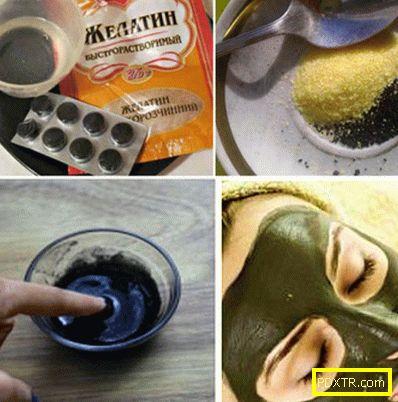 Желатин от бръчки около очите - 4 рецепти за ефективни маски