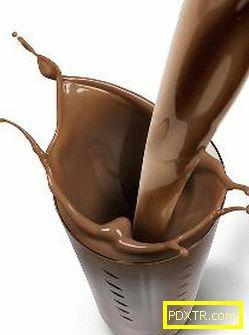 Шоколадова обвивка у дома за отслабване