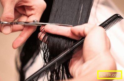 Колко правилно да намалите косата?