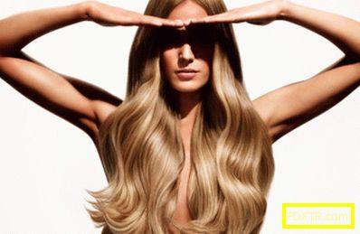 Възраст на косата и дължина на косата