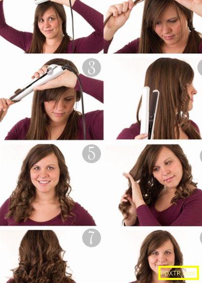 Как да вентилирате косата с желязо: стъпка по стъпка