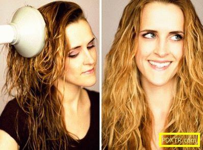 Стилизираща коса с дифузьор за средна и дълга коса